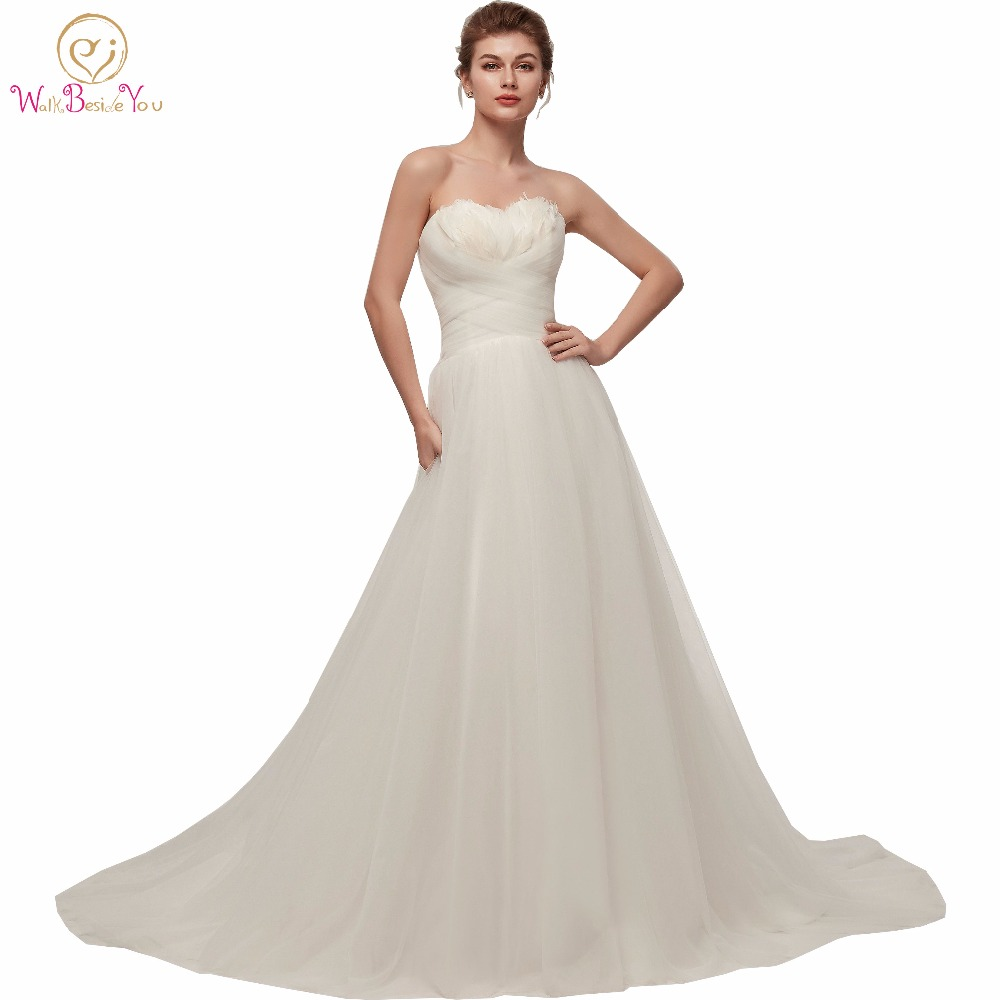 Aliexpress.com : Buy Walk Beside You White / Ivory Wedding