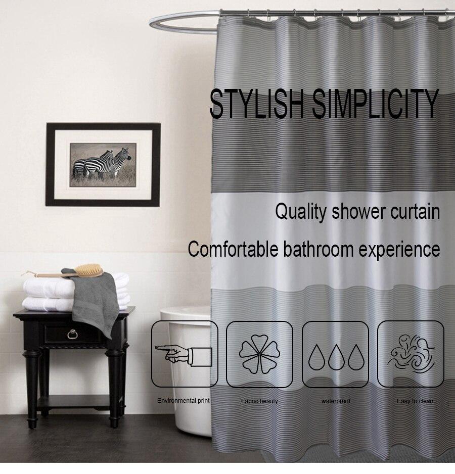 decoração precisa cortina de chuveiro à prova