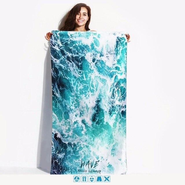 Compatto di Nuoto Asciugamano Rapida Asciugatura Portatile Sport Asciugamano In
