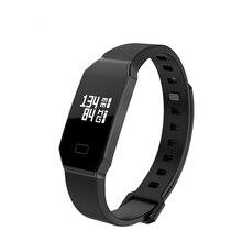 E02 Умный Группа Фитнес-Трекер Кровяное Давление Монитор Сердечного ритма Bluetooth 4.0 Смарт Wristabands для Android iOS P30