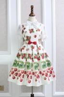 Princess Sweet Lolita Japanese Dress Alice Girl Beautiful And Elegant Icecream Bowknot Lolita Dress QQ016