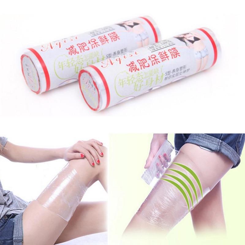1 roll Fat Burner Plastic Belt Wrap Slim Patches Slimming Fas
