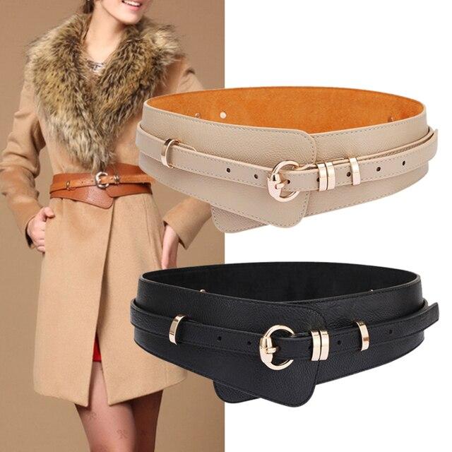 Brands Genuine Leather Cowskin Belts for Women Alloy Buckle Leather Buckle women's waist belt girdle crony bandwidth cummerbund 4