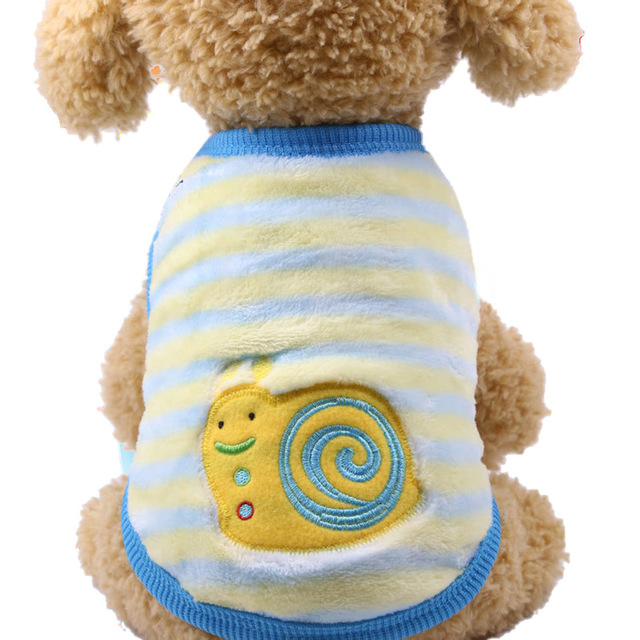 Clothing Cartoon Warm Dog Vest  My Pet World Store