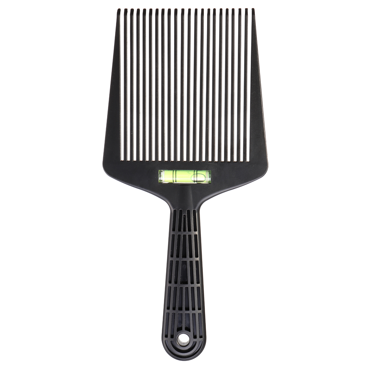 Wide Tooth Flat Comb Barber Salon Hairstyling Dyeing Coloring Tool Fork Insert Pick Afro Combs for Hairdressing janeke silver large wide tooth comb