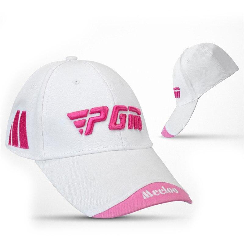 Prix pour PGM De Golf Chapeau De Golf Caps Unisexe Coton De Golf Solaire Chapeau broderie Marque Capuchon De Golf Chapeaux Sport Casquette à visière 5 couleurs