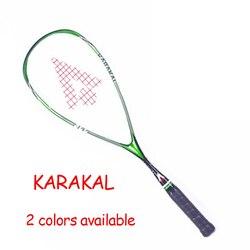 Officiële Karakal Squash Racket SLC 100% Carbon Fiber Padel Rackets Sport Training 1 Stuk Requeta Met Tas Snaren Voor Beginner