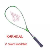 Official Karakal Squash Racket SLC 100% Carbon Fiber Padel Rackets Sport Training 1 Piece Requeta With Bag Strings For Beginner