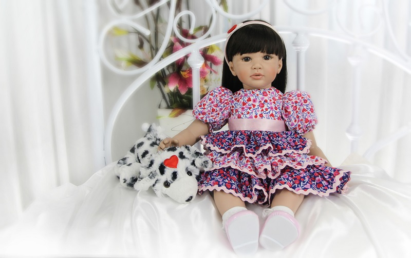 60cm Silicone Reborn Baby Doll Toys Life