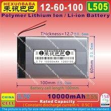 [L505] 3,7 V 10000mAh [1260100] полимерный литий-ионный/литий-ионный аккумулятор для планшетных ПК, мобильного банка питания; gps; MP3, динамик
