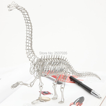 NOT FOR SALE FREE SHIPMENT J5 DINOSAUR MODEL/DECORATION STAINLESS HAND-MADE ART CRAFTS WEDDING&BIRTHDAY&HOME&OFFICE&GIFT&PRESENT