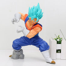 Japão Anime Dragon Ball SUPER Deus Super Saiyajin Vegetto SS FINAL KAMEHAMEHA Limite Pausa Coleção Toy Action Figure(China)