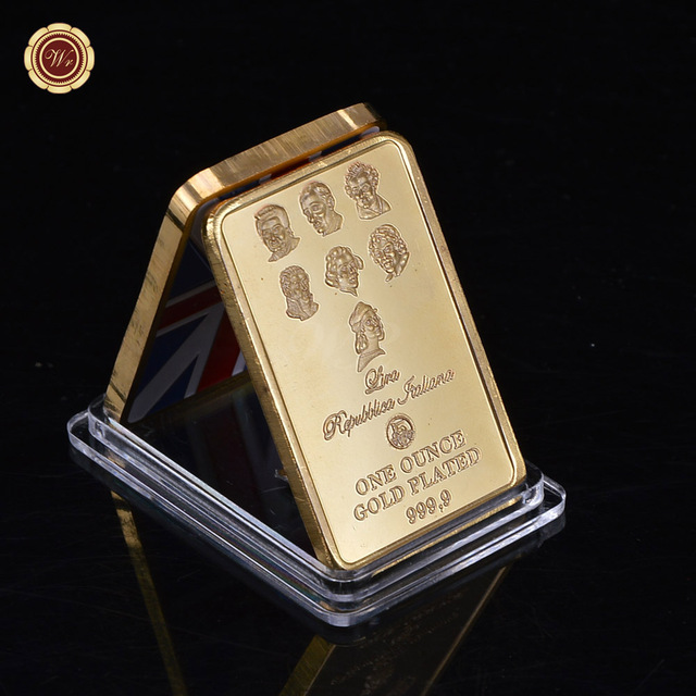 Beauty Product 999 1000 Gold Plated Coin Hot High End 1 Oz