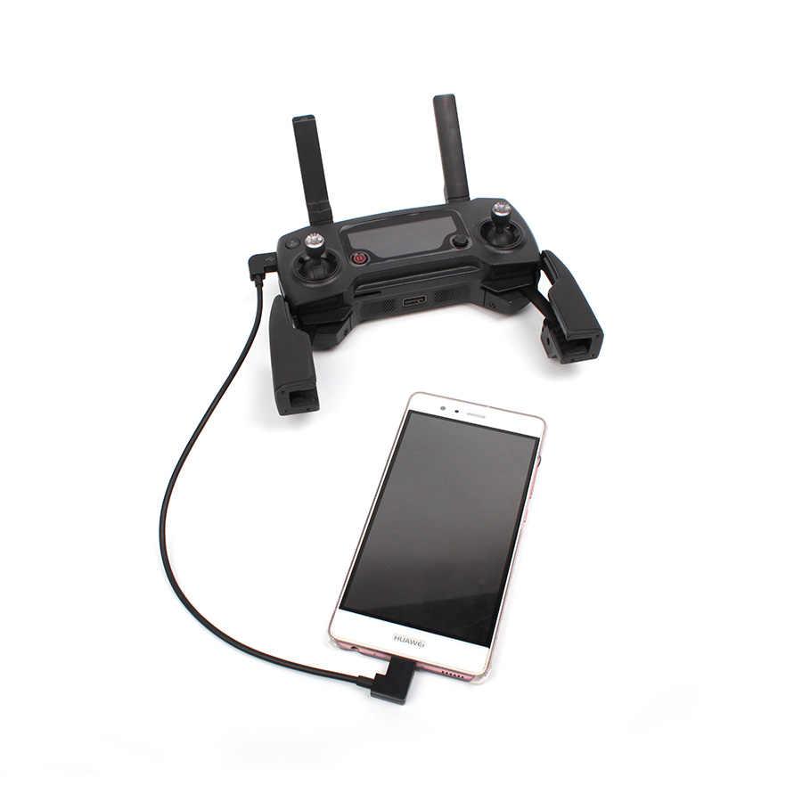 Untuk DJI Spark/Mavic Pro/Air 30 Cm Kabel Data Line Remote Controller Smartphone Tablet