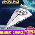 81098 05027 Звездные игрушки войны совместимы с Lepinging 10030 75252 имперский Звездный Разрушитель строительные блоки Дети Рождественский подарок