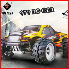 1:18 70KM/H WLtoys A979 Remote Control Car 4WD RC Electric Off-Road Bigfoot Cross-country Rock-climber Climbing Buggy Drift 2.4G wltoys a979 2 4ghz 1 18 full proportional remote control 4wd vehicle 45km h brushed motor electric rtr off road buggy rc car