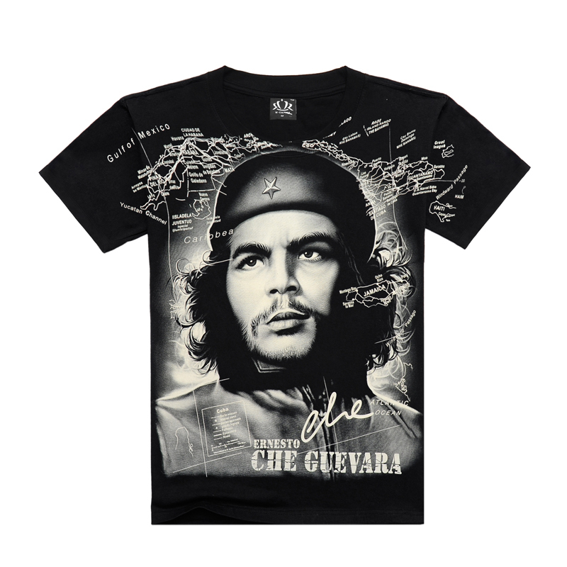 Che Guevara T Shirt Hop School Harajuku Funny Top Men Clothing Hip Tee Streetwear 2019 Tshirt Male T-shirt For F4155 Tops & Tees
