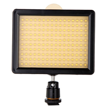 160 LED Video Light Lamp Panel 12W 1280LM Dimmable for Canon Nikon Pentax DSLR Camera Video Camcorder