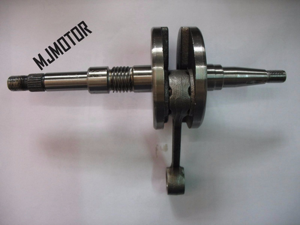 high quality DIO50cc Crankshaft for Honda zx18 scooter QJ50 2 stroke engine Keeway Chinese motorcycle motorbike atv part