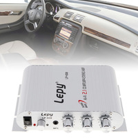 200W 12V Mini Hi Fi Amplifier Booster Radio MP3 Stereo For Car Motorcycle Home
