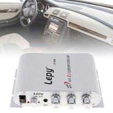 12 В мини hifi стерео Усилители домашние Booster Радио Mp3 Mp4 аудио Мощность Усилители домашние amp для Авто Мото дома