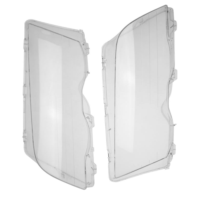 Vodool фар объектив фары Стекло крышка из прозрачного 4 двери Поликарбонат фары крышка объектива левый и правый для BMW E46 98 -01