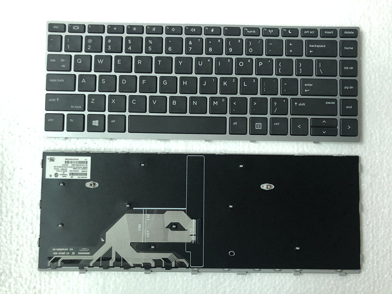 New FOR HP Probook 430 G5 440 G5 445 G5 Black Laptop Keyboard US L01071-001