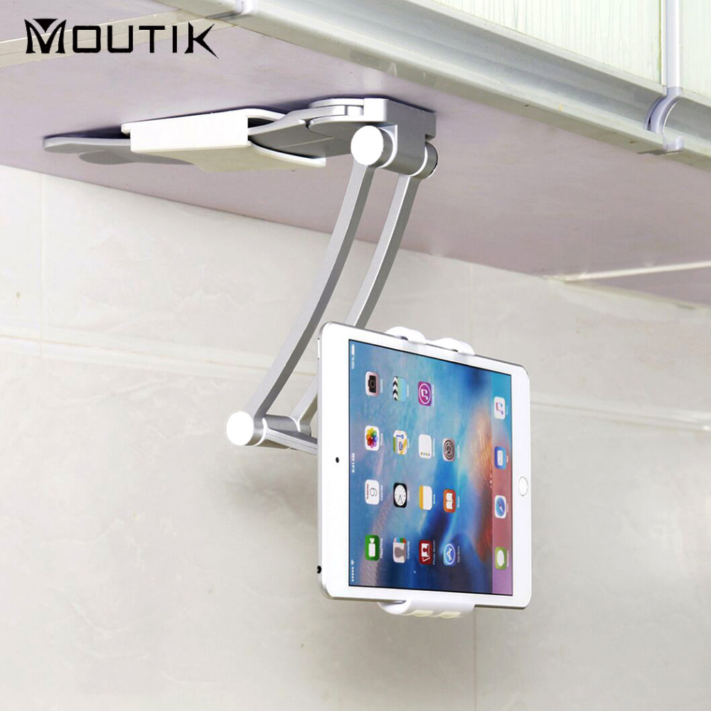 2-in-1 Kitchen Tablet Mount Stand Wall Mount Desk stand Phone Holder for ipad Pro 9.7 7-12 inch Tablet PC стоимость