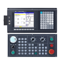 New panel 3 Axis CNC Controller for Lathe&Turning machine with G code servo stepper with USB motion control