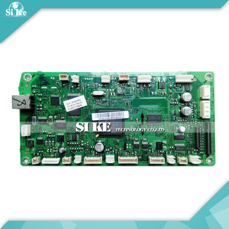 Laser Printer Main Board For Samsung CLX-3185 CLX-3186 CLX 3185 3186 CLX3185 CLX3186 Formatter Board Mainboard Logic Board стоимость