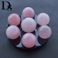 Natural Rose Quartz Seven Star Array Quartz Crystal Ball Wicca,Reiki Meditation Chakra Healing Crystal & Obsidian Stand