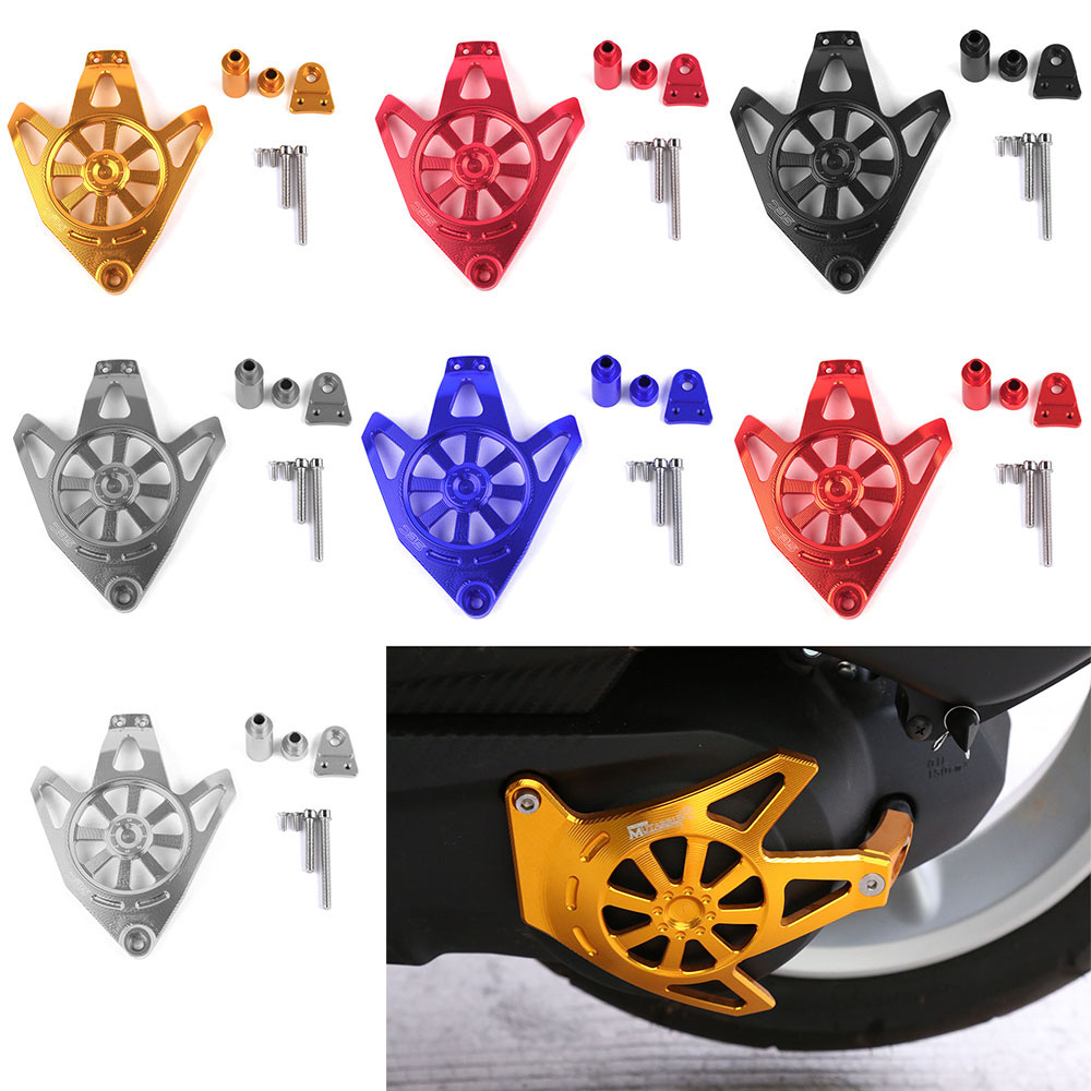 For Yamaha NVX155 AEROX155 2017 Motorcycle Accessories CNC Aluminum Alloy Engine Guard Case Slider Cover Protector Set motorbike scooter cnc aluminum alloy rotatable spinable cooling fan cap cover protector guard for yamaha bws x 125 cygnus 125