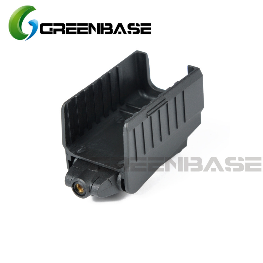 Greenbase Tactical Red Dot laser Sight Scope for Airsoft KWA KSC Glock 17 22 23 25 27 28 43 Pistol Iron Rear Sight-2