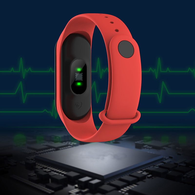 Sport smart watch High cost performance Breathable silicone strap Heart rate IP67 waterproof  Fitness Wearable smart bracelet