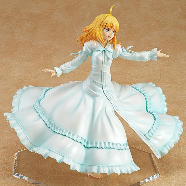 Japan Anime Fate stay Night Saber Last Episode Action Figure 23cm 1/8 Scale Painted PVC Figure Model Collection Doll Toys1