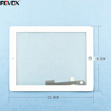 цена на RLGVQDX Replacement Touchscreen Front Tablet For iPad 3 Touch Screen Glass Digitizer assembly For ipad3 A1416 A1403 A1430