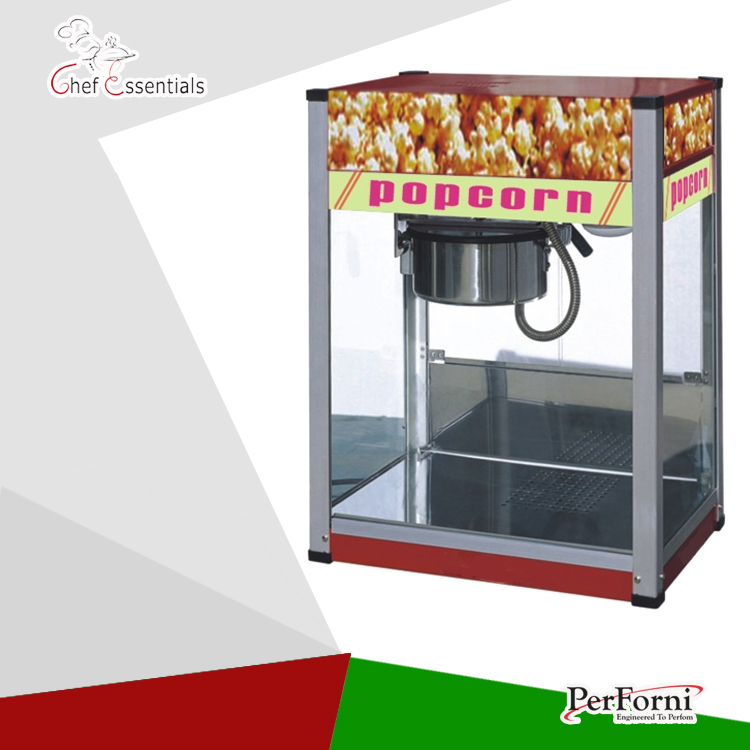 POP-08 commercial electric popcorn machine popcorn maker for coffee shop popcorn making machine pop 06 economic popcorn maker commercial popcorn machine with cart