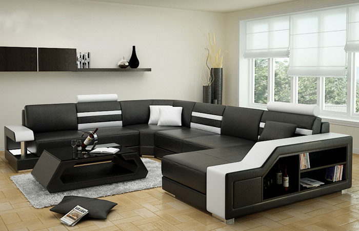 US $1460.0 |Hot Sale Wholesale Price Corner Sofa Leather Air Recliner Sofa  Set-in Living Room Sets from Furniture on AliExpress