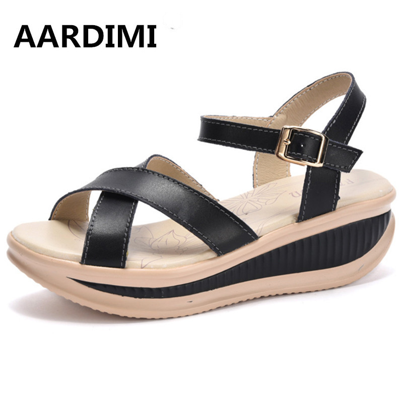 New 2017 women sandals genuine leather women sandals 3 colors fashion wedge gladiator sandals women summer shoes woman phyanic summer style shoes woman 2017 new gladiator sandals platform flats fashion creepers women flat shoes 3 colors phy4044