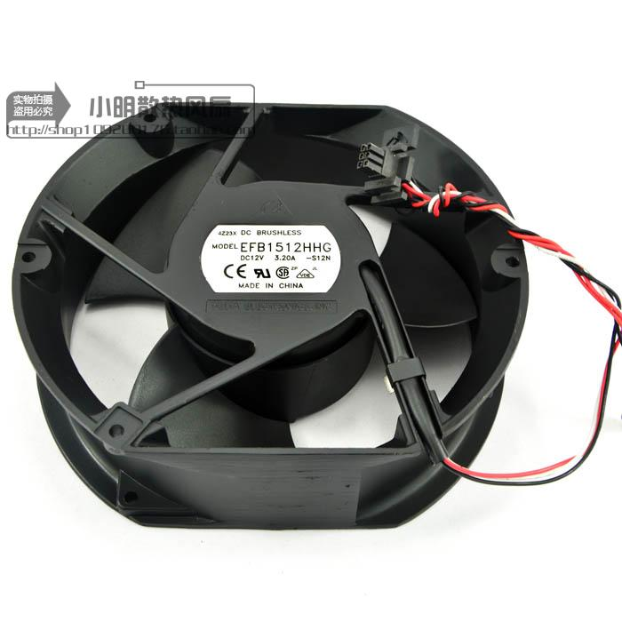 Free Delivery. 17 cm 17251 EFB1512HHG 12 v 3.20 a industrial fan Resistance to high temperature fan free delivery typ 5118 n 12 dc 48 v 9 5 w fan three lines all metal resistance to high temperature