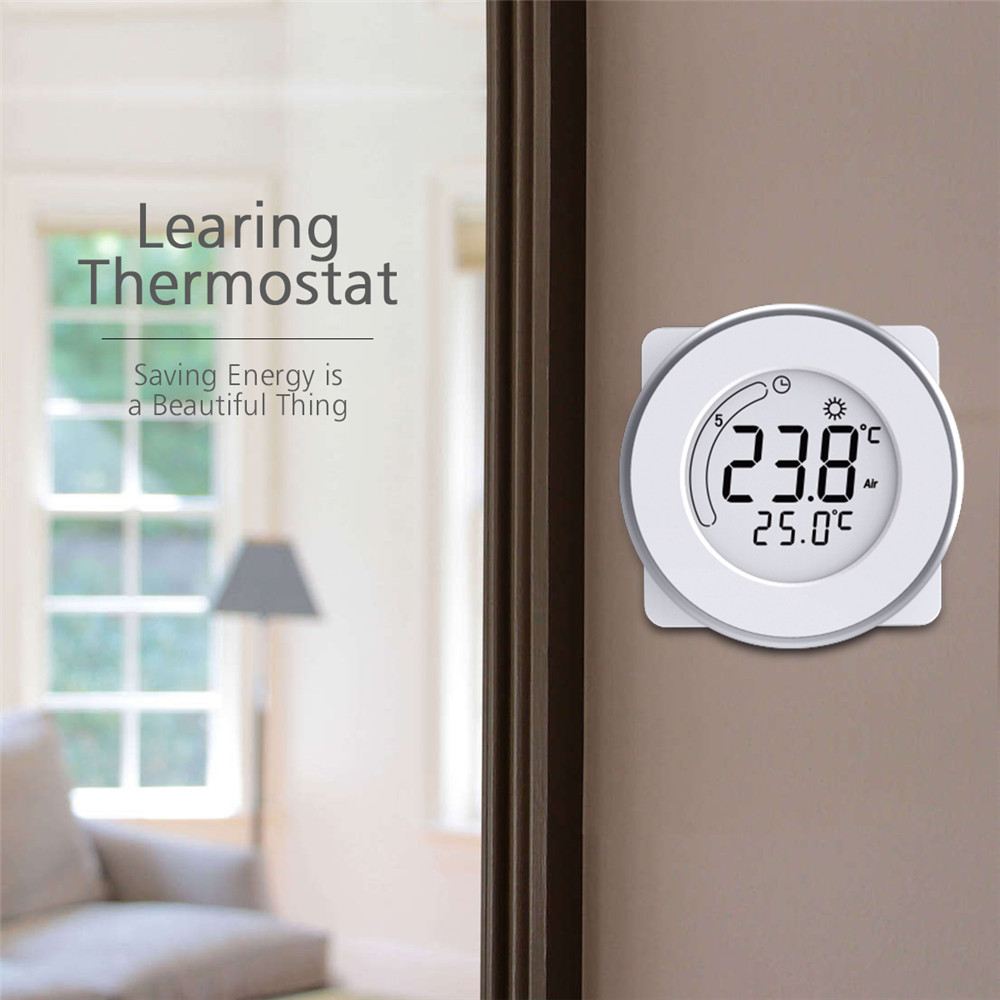 BYC18.GH3 Smart LCD Thermostat Touch Screen Heating Temperature Controller 3 Time Mode Household Room Controller Thermoregulator electric floor heating room touch screen thermostat warm floor heating system thermoregulator temperature controller 220v 16a