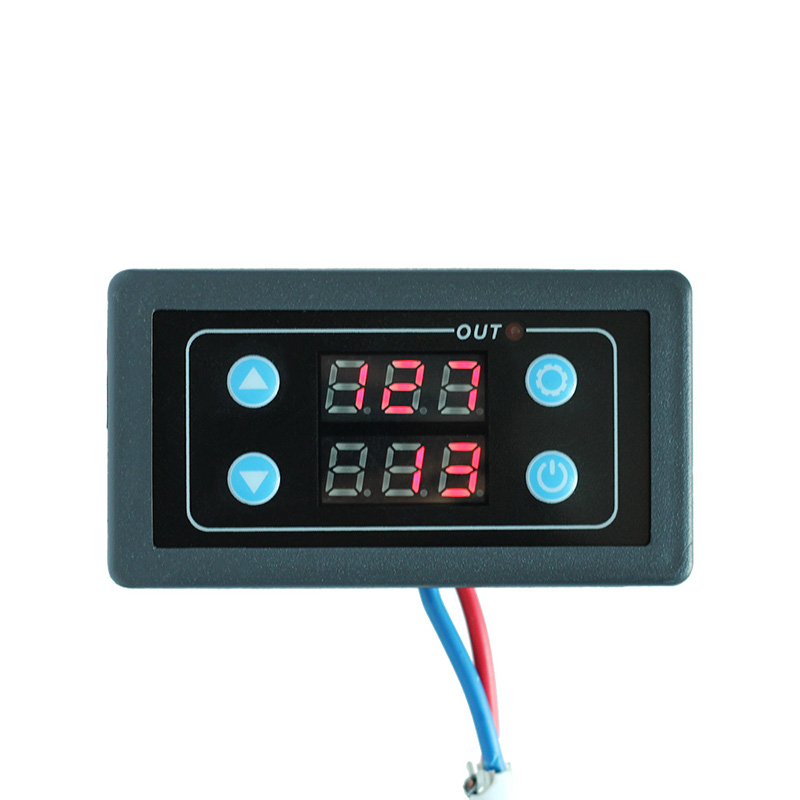 цена на AC 85-265V Timing Delay Timer Relay Module Digital LED Dual Display 0-999 Hours Adjustable Timing Range Relay