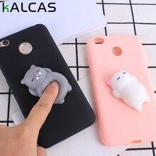 Xiaomi Redmi 4X Case Cover 3D Capa Decompression Soft Case For Xiaomi Max2 Redmi 4X Note 4 Pro Note 4X 4A Case Silicone Coque