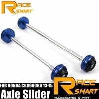 Front Rear Axle Fork For HONDA CBR 600RR CBR 600 RR Wheel Protector Crash Slider Falling Protection CBR600RR 13 15 CBR 600RR