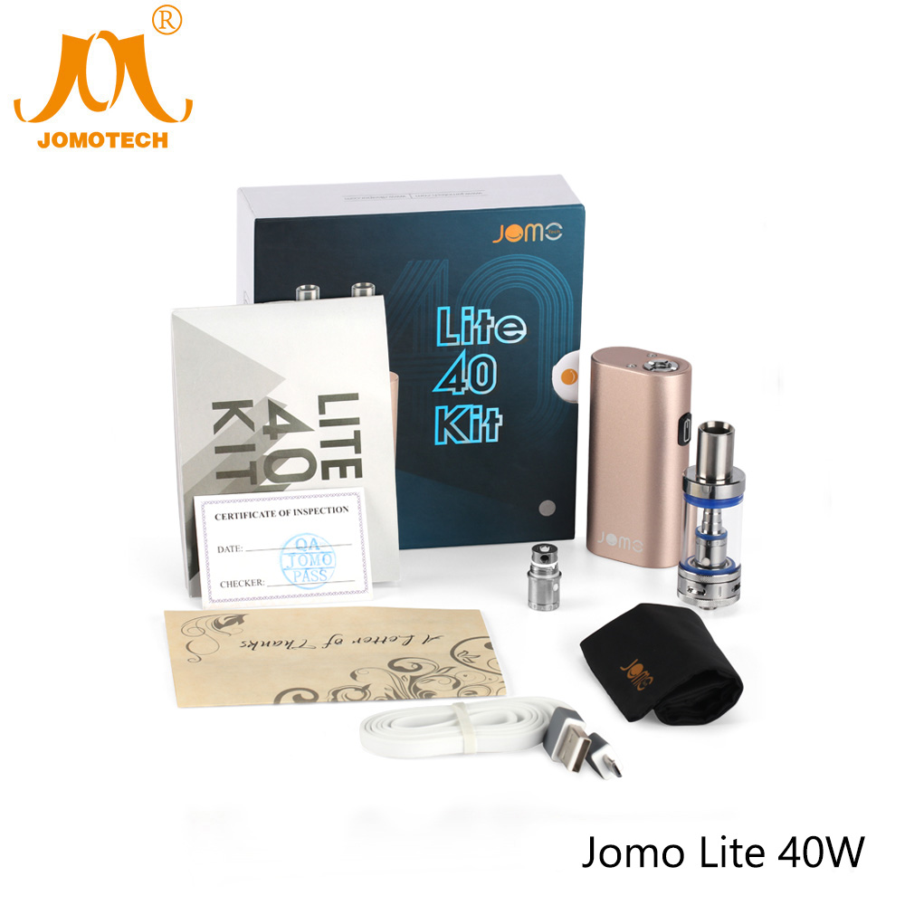 Russian Delivery 0.5ohm Electronic Cigarette Jomo Lite 40 Vape Mod 40W/2200mAh Vaporizer Pen 3.5ml E-cigarette Mod Kit Jomo-02