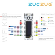 ESP8266 WIFI Chip 0.91 inch OLED CP2014 32Mb Flash ESP 8266 Module Internet of things Board PCB for