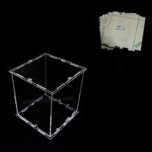 DIY 3D 8 S mini LLEVÓ Cubos de Luz de Acrílico caso-nota: cubos de caja única con el uso de nuestros 3d8 mini cubos, tamaño es 12x12x h14 cm
