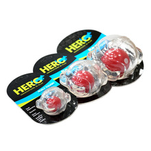 CAITEC Dog Toys New Squeaker Ball Floatable Springy Bite Resistant Great for Tossing Chasing Can also Forage 3 Sizes