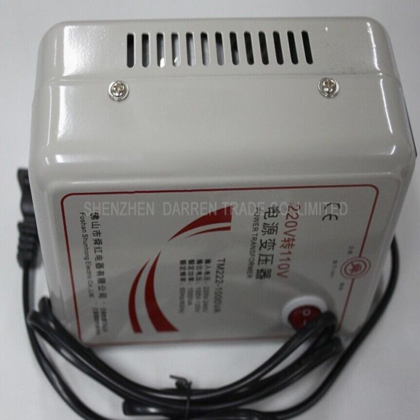 1 PC 1000w 1KVA Step Down Voltage Converter Transformer 220v-240V to 110v-120V