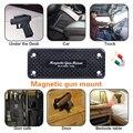 36LBS Магнитная пушка  держатель  кобура  магнит  пистолет  винтовка  скрытая для автомобиля  под столом  Безопасный инструмент  бесплатная дос...